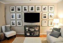 family room refresh / by Lindsley Grebenik