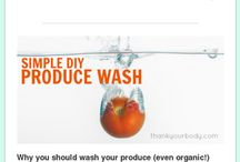 DIY stuff / Make your own cleaning products, soap, makeup, candles, etc.