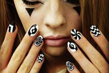 OP ART NAILS