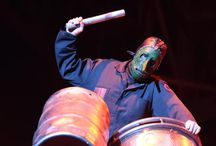 Chris Fehn's Slipknot masks / Chris Fehn's 7-inch long nose mask is very popular. He along with his other band members of SlipKnot are known to wear varieties of the whole face covering masks while performing on-stage or on their music videos.