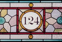 House Number Glass Inspiration
