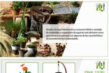 Jardín Eco - Sustentable / #Jardín #Eco #Sustentable #Ideas