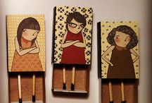 matches boxes