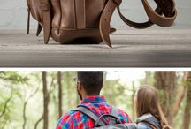 Leather bags / Beautiful leather bags, backpacks and etc.