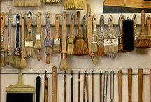 Brush and paint tools