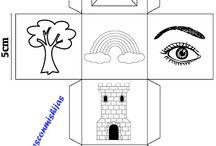MCMH - Story cubes caseros / Story cubes para niños realizados en el blog Manualidadesconmishijas