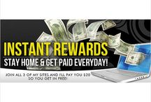 Extra Cash & Rewards! / Sign up with companies to try their products while earning extra cash and earning rewards!http://www.starter.instantrewards.net/index.php?ref=490680 / by JenniferLynn Pitts
