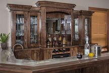 Closets, Bars & More / No project is too big or too small for our team of experienced designers. From closets, bathroom vanities, laundry rooms, home offices, and entertainment centers, to wine cellars and bars – we love making the most out of your space.