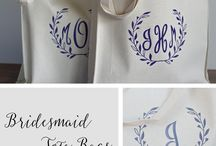LaLa Confetti / Bridesmaid Gifts, Bachelorette Party Tattoos, Bridesmaid Tote Bags, Monogrammed Towels, Bridesmaid Tote & Tumbler, Personalized Tote Bags, Engagement Gifts, Bridesmaid Tumblers, Bachelorette Party Gifts