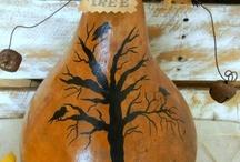 Gourd art / by Patsy Waller