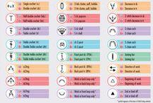 Crochet symbols & abbreviations