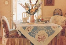 Antique Tablecloths & Textile Treasures