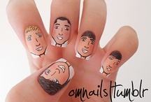Faces on nails