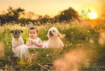 Manuela e dogs / A rotina da princesa Manuela e os cachorros Tommy e Fredy