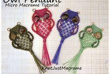 Macrama, knots
