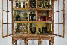 Starožitné domčeky pre panenky