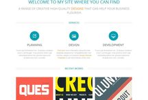 Free Creative Agency Website Templates