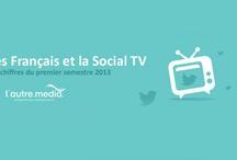 La Social TV et les français / Avec le développement de la Social TV, regarder la télévision devient une expérience commune. Découvrez les chiffres de ce début d'année 2013 à travers une infographie réalisée par L'Autre Média !