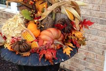 Fall containers planters