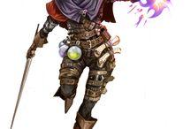 RPG - Personas (Elfos Drow)