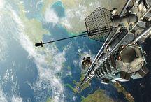 NASA és egyéb kutatások a futurológia területéről / Alátámasztja a könyv hitelességét. Háttér anyagot gyűjt és ad a könyvhöz