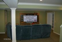Basements By Creative Ideas Carpentry By Brian Tenney / Basements Finished By Creative Ideas Carpentry By Brian Tenney
