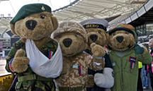 The Adventures of Hero Bear! / Hero Bear is the official mascot of the Help for Heroes charity, and travels all over the UK meeting our wounded, supporters, patrons and celebrity fundraisers!
