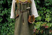Kleidung Viking / Kleidung für Frauen, Männer und Kinder, Stickmuster, Schnittmuster, ...