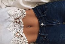 piercing and tattos
