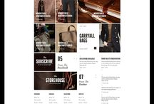 E-Commerce Website Inspiration / Inspiration for E-Commerce websites and applications