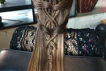 Saç örgüleri&Hair weaves
