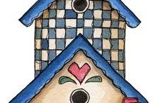 Obrazki - Domki dla ptaków