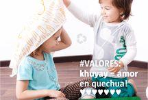 Nuestros VALORES / Aprendemos sobre VALORES jugando en nuestro lenguaje y en el de las lenguas nativas!