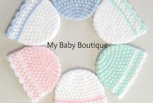 crochet baby hats, booties, socks / by Tammy Arnold