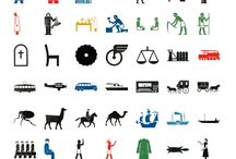 ISOTYPE / Otto Neurath, Gerd Arntz, ISOTYPE pictograms and infographics
