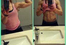 Small girl big biceps