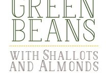 Garden recipes - beans