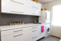 Home interior: utility room