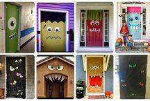 Decoración de Halloween / Ideas para decorar tus ventanas y puertas para celebrar la noche más terrorífica del año