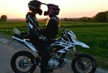 motorcycle love couple