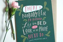 Quotable Love / These cards say it all.