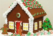 Christmas - Gingerbread houses