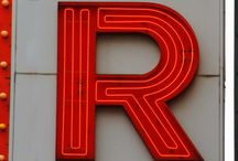 Beginning with the letter R / Lets fill the world with the letter R!