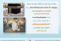 Iszlám vallás tanításai