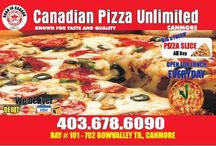 Canadian Pizza Unlimited / We provide the best pizzas in Canada. We value our customers. Come spend some time in our restaurant.