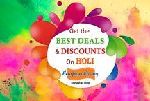 Holi 2015 Deals