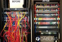 Before & After / Before and after cable management projects from some of our customers that will wow your pants off.