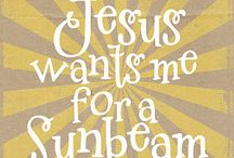 Sunbeam ideas / by Joanna Ellis