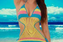 Vestidos De Praia crochê