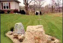 Septic tank cover ideas